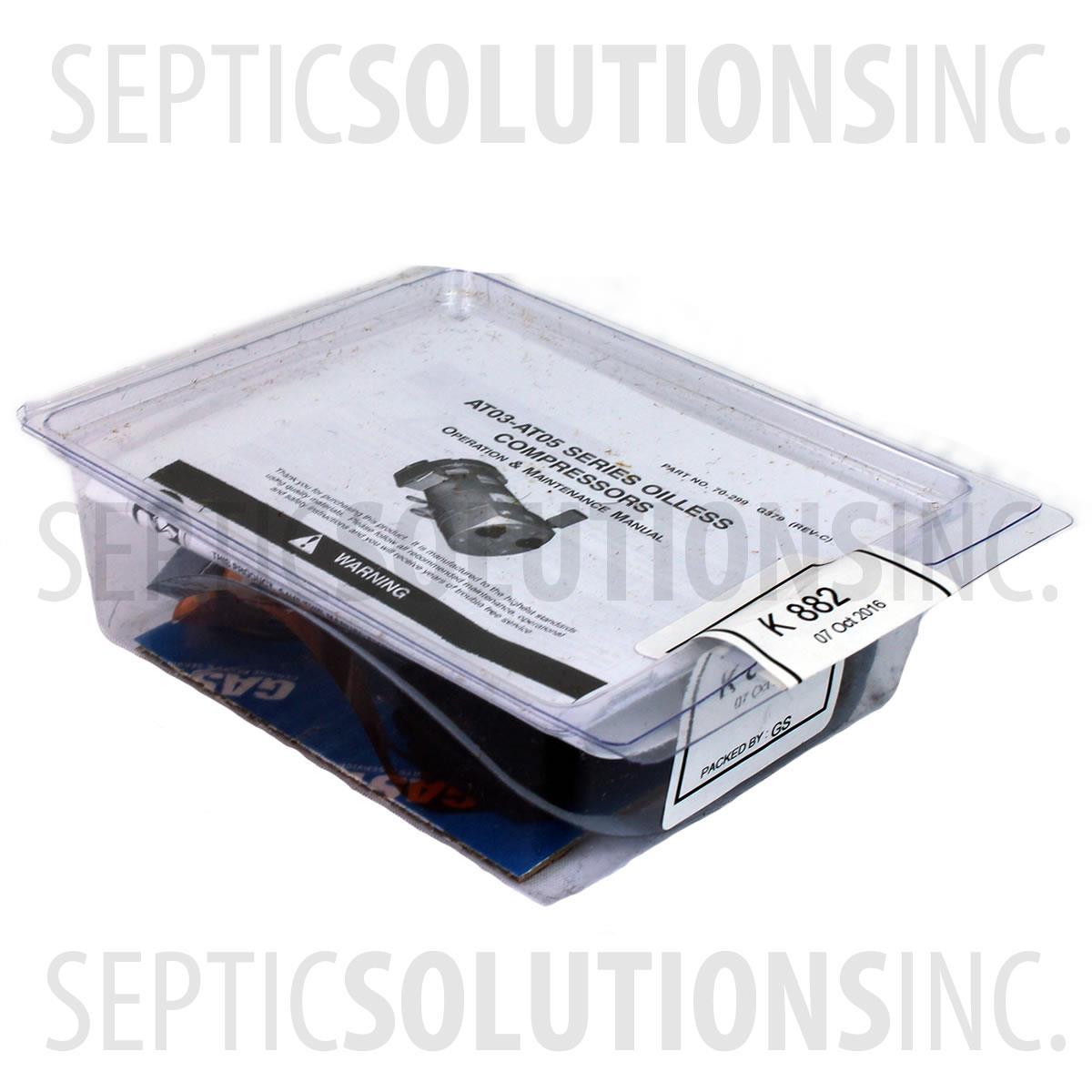 Gast Rotary Vane Repair Kit K882 For Models 0323 0523