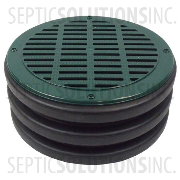 Polylok 15'' Heavy Duty Grate Cover for Corrugated Pipe - Part Number 300415-G
