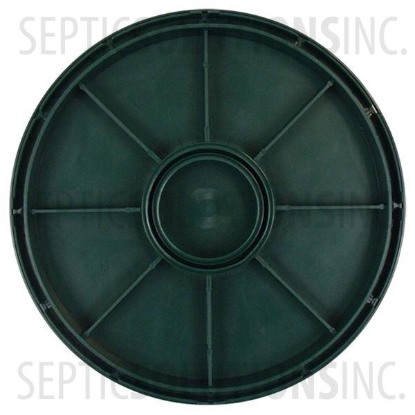 "Polylok 12"" Septic Tank Riser Lid - Part Number 3017-C"