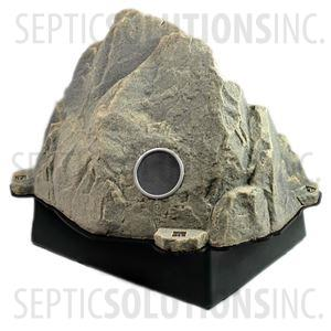 Fieldstone Gray Vented Replicated Rock Enclosure Model 109 with Platform Base