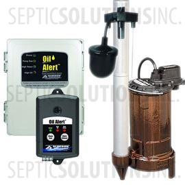 Elevator Sump System with 1/2 HP Pump and Oil Detection System