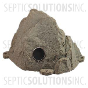 Riverbed Brown Vented Replicated Rock Enclosure Model 109