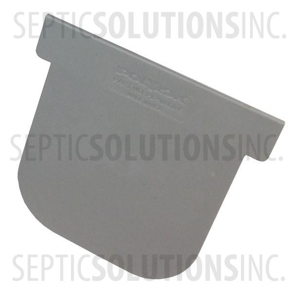 Polylok Heavy Duty Trench/Channel Drain Closed End Cap (Grey) - Part Number PL-90860-CEG