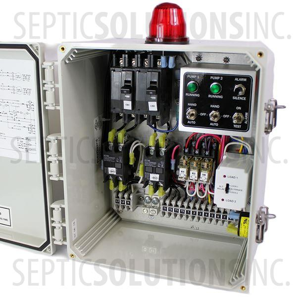 SPI Model SDC12B Duplex Control Panel (120/240V, 0-20FLA) - Part Number 50A506