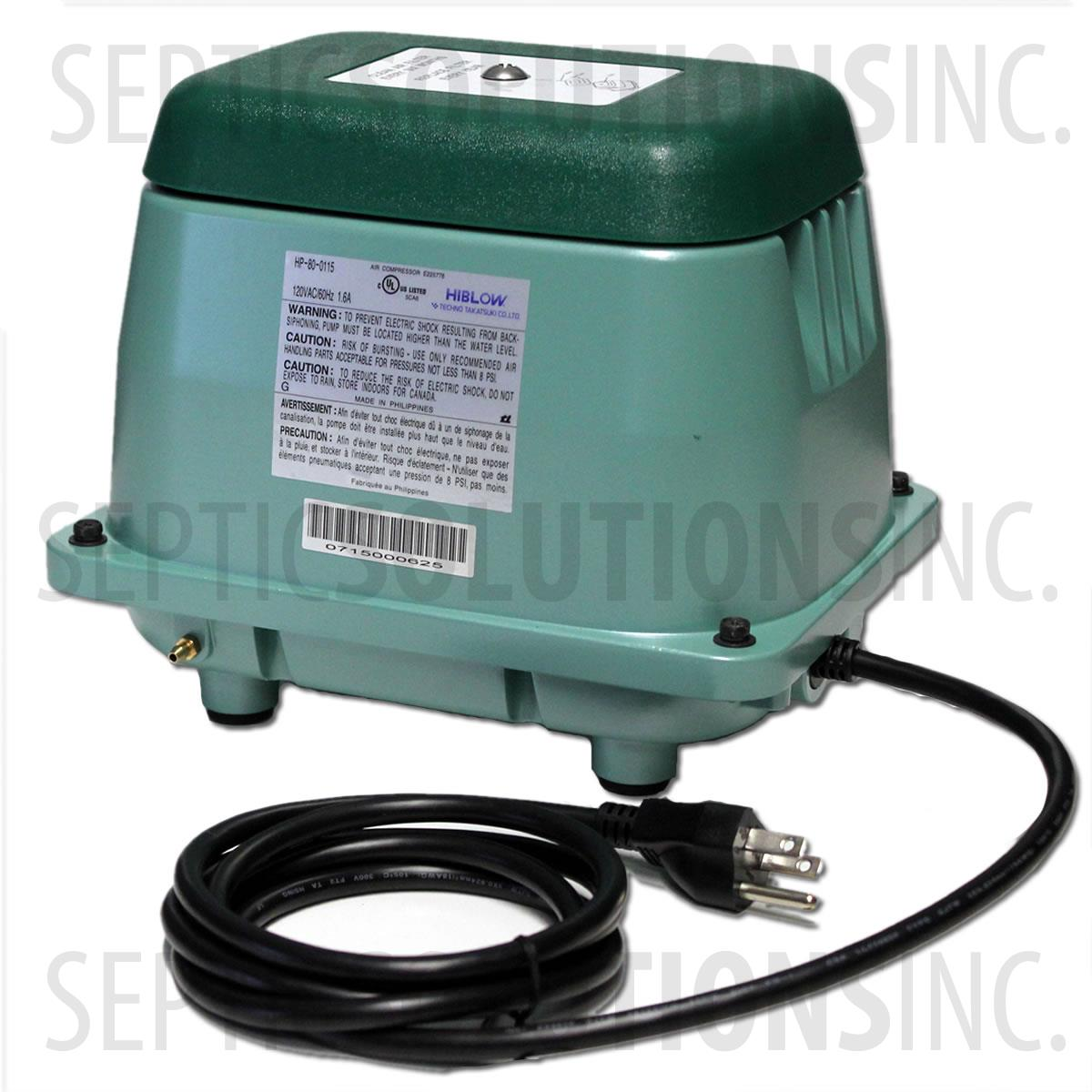 Aqua Safe As500 Replacement Septic Air Pump Aqua Safe