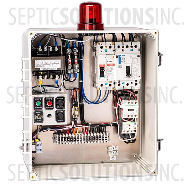 SPI Model SSC3B460 Three Phase Simplex Control Panel (460V, 0-11 FLA) - Part Number 50A008
