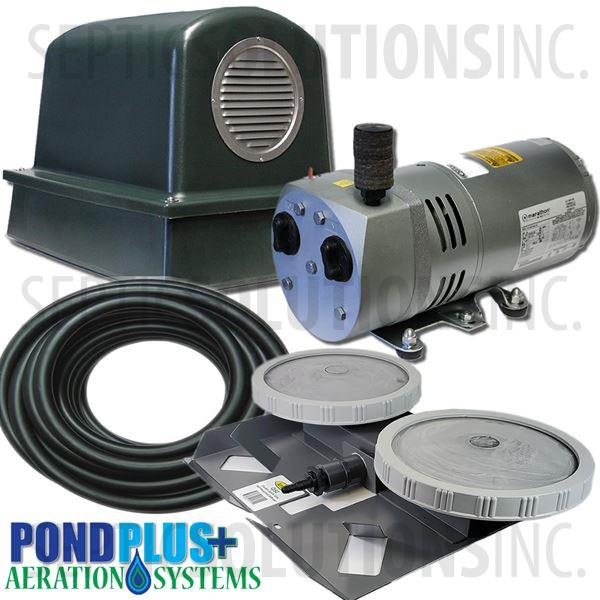 PondPlus+ P-O2 RV051 Aeration System for Small / Medium Depth Ponds - Part Number PO2RV051