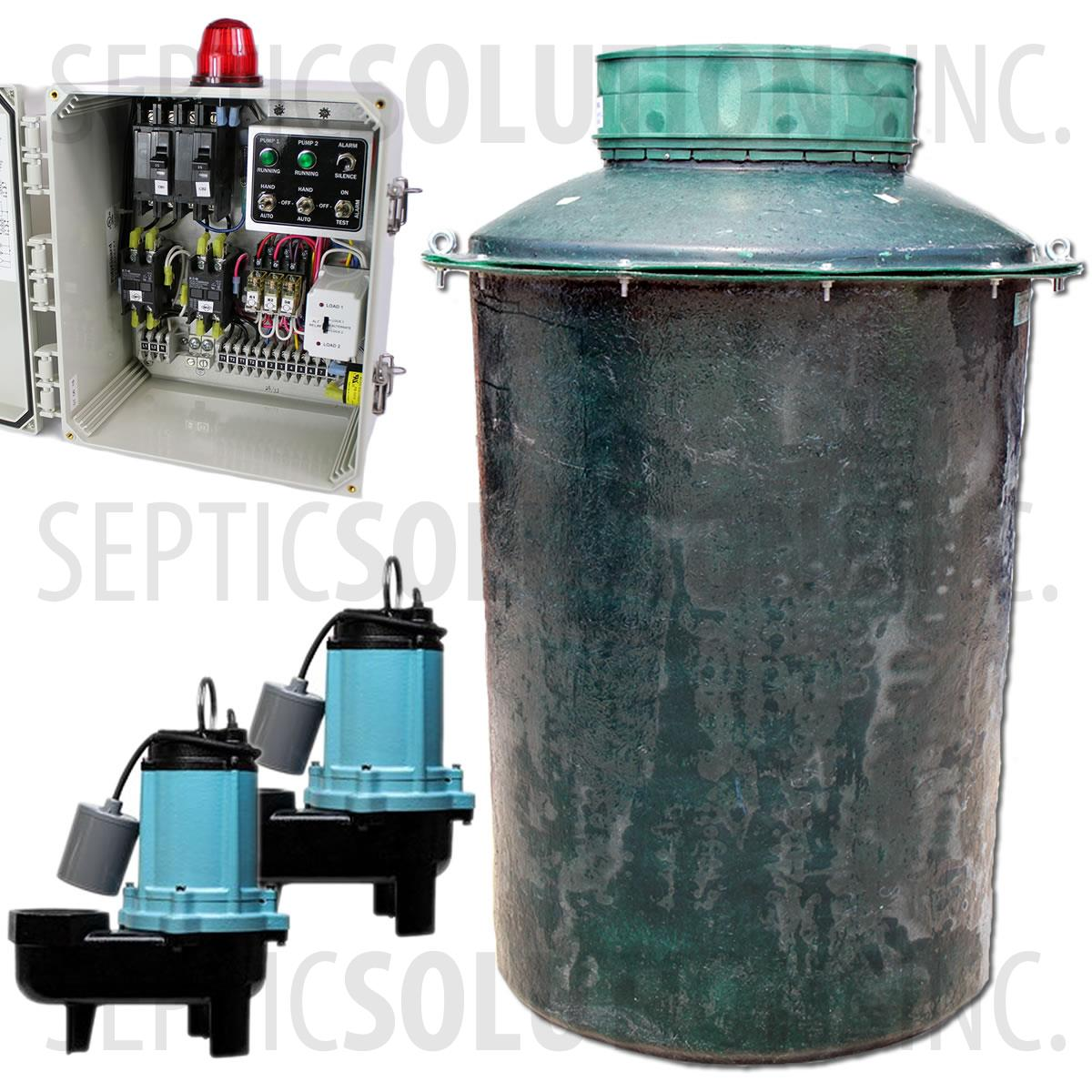 Duplex Sewage Pump System Residential And Commercial