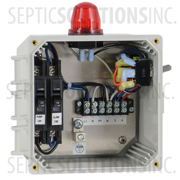 Hwap Economy Simplex Control Panel High Water Alarm Free