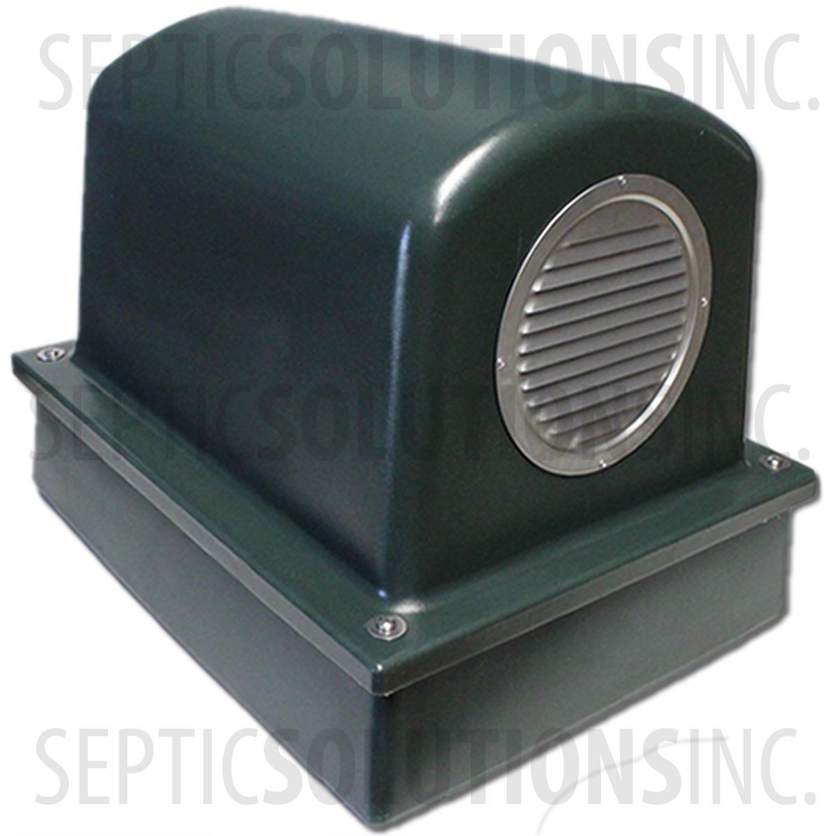 Forest Green Pump Protector Air Pump Housing And Platform