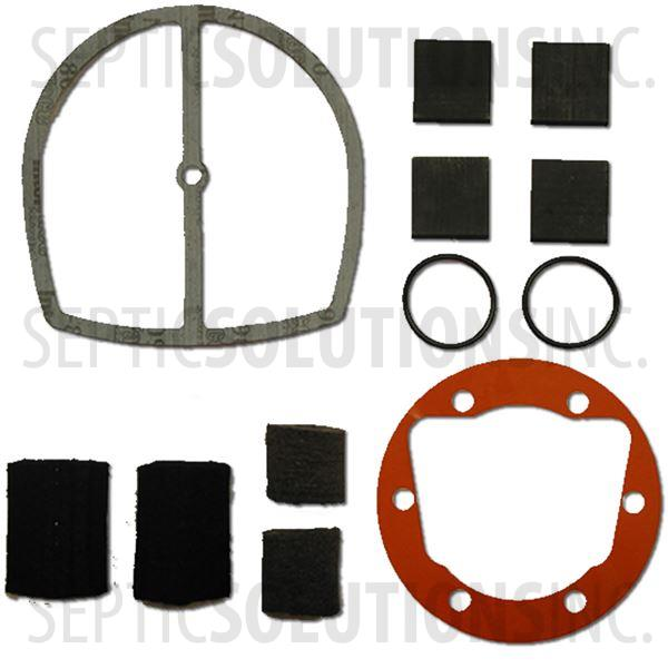 Gast Rotary Vane Repair Kit for Models 0323, 0523, RV03, RV05, AT03, AT05 - Part Number K882