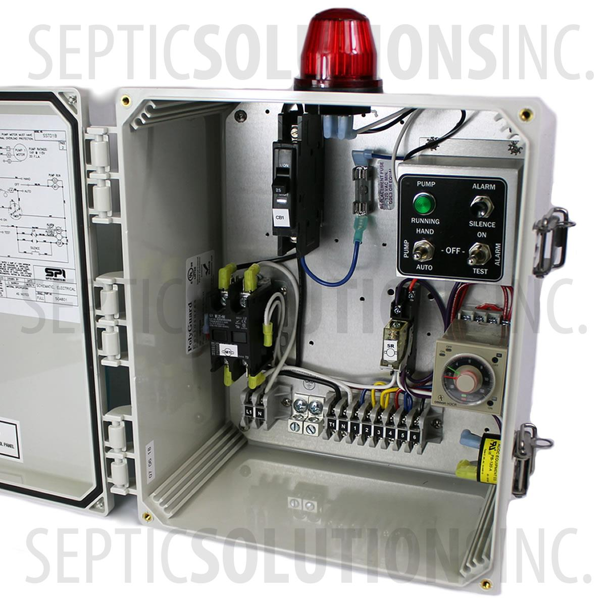 Spi Model Sstd1b Simplex Time Dosing Control Panel Part