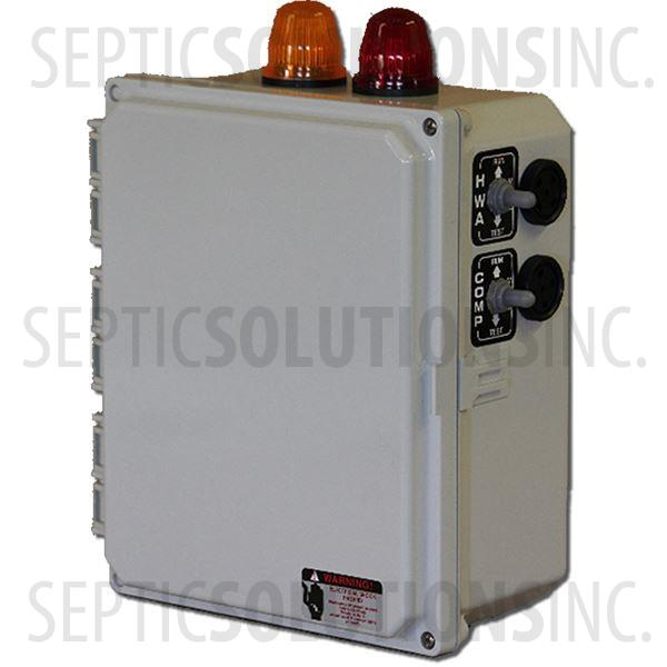 BIO-T Aerobic Time Dosing Control Panel for Drip Irrigation Systems - Part Number 50B017-120D-1CAL