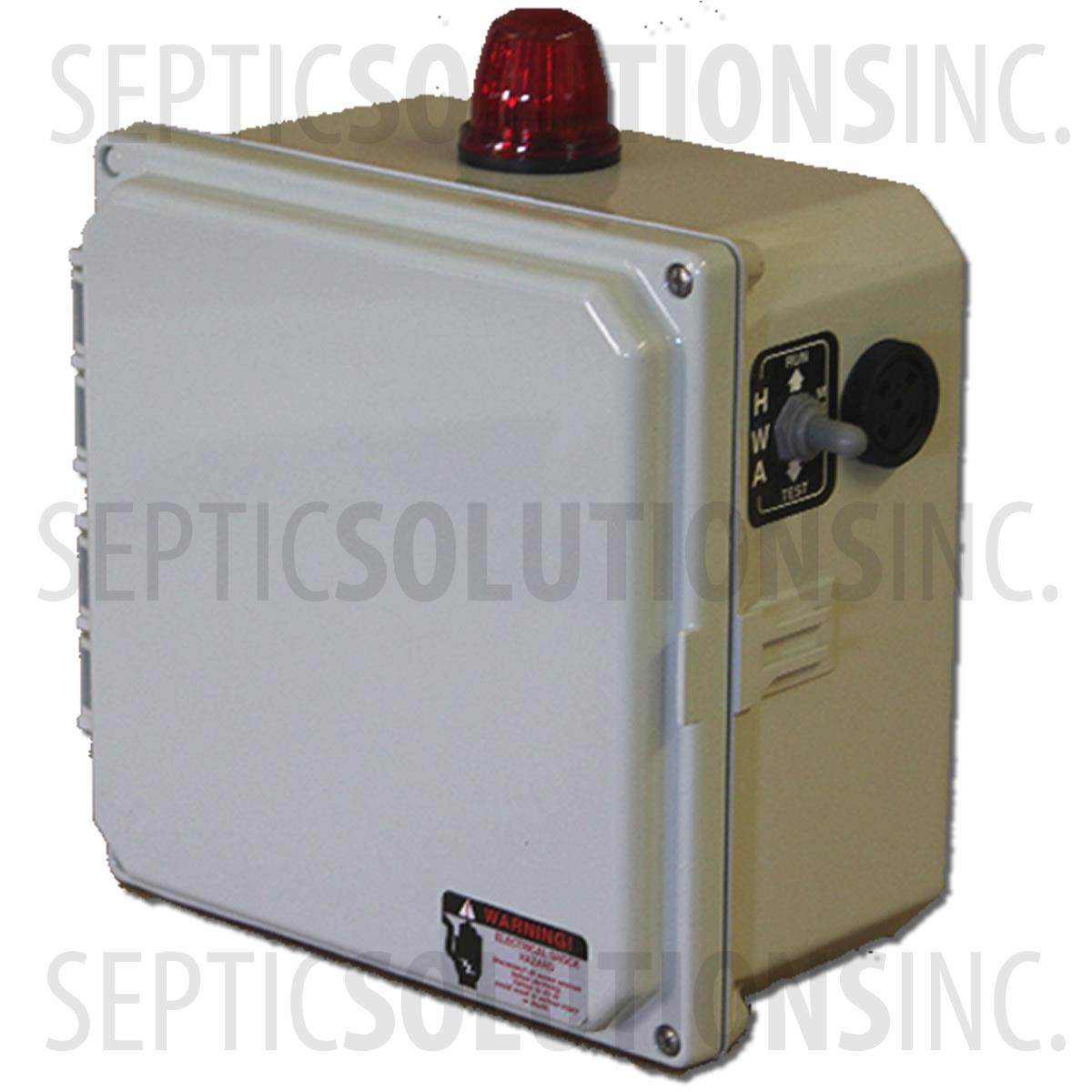 50B003_2?w=600 bio c aerobic septic system control panel fast & free shipping clearstream septic system wiring diagram at crackthecode.co