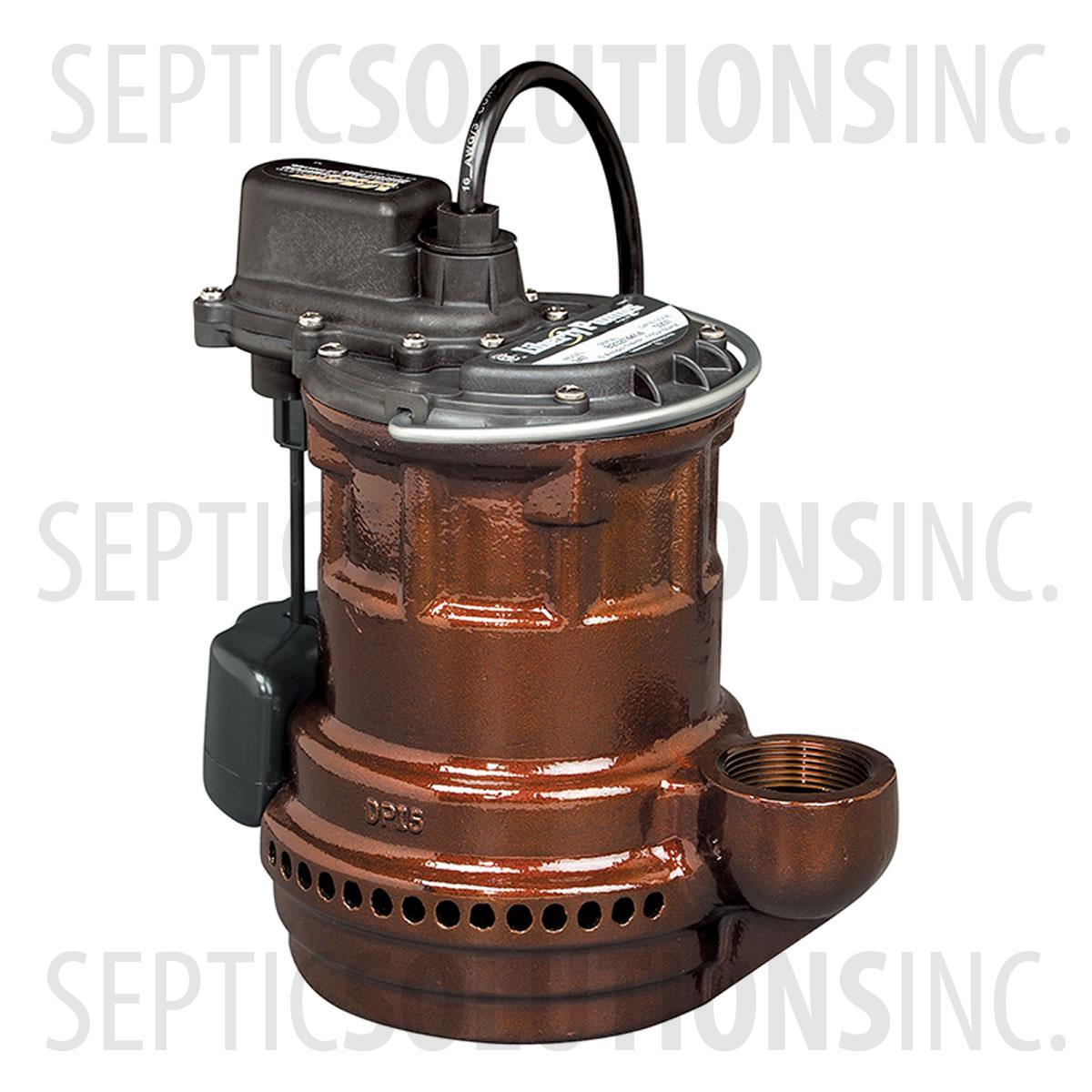 Liberty 240 Series 1 4 Hp Cast Iron Submersible Sump Pump