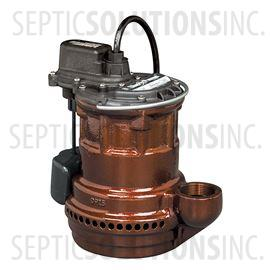 Liberty 240-Series 1/4 HP Cast Iron Submersible Sump Pump