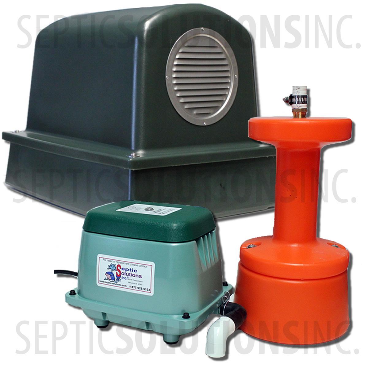 Septic Tank Air Blower Wiring Diagram 37 Images Pump Alarm Sepsaverpkgplus 1w600 Sepaerator Saver Package Plus Aerator Convert Your