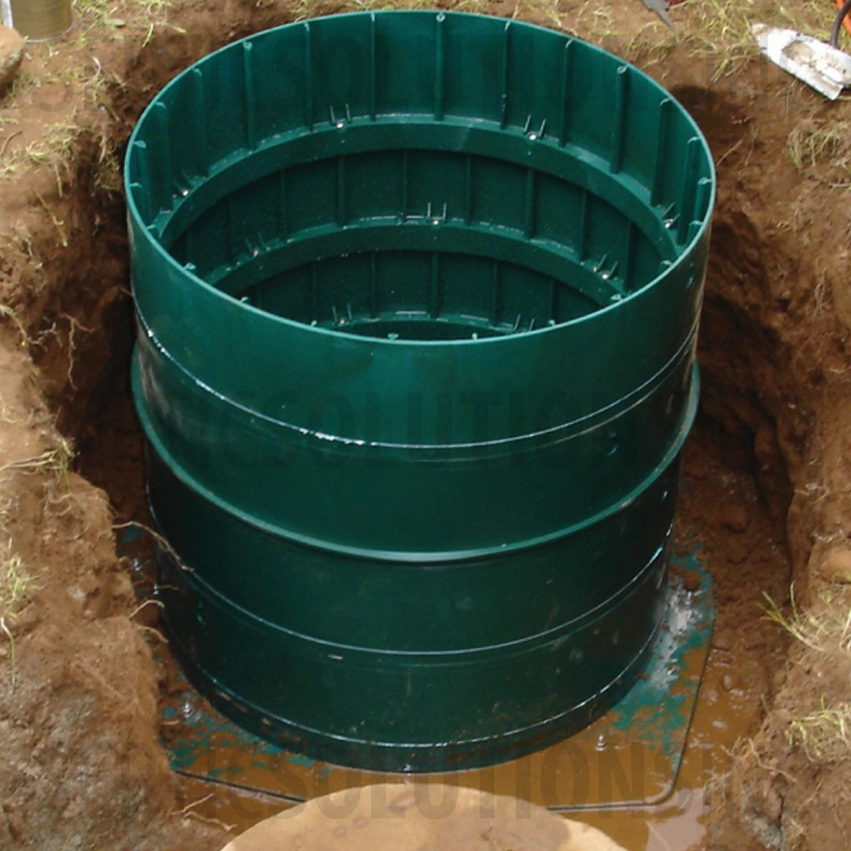 Polylok Square Septic Tank To Riser Adapter Ring 3009 Ar