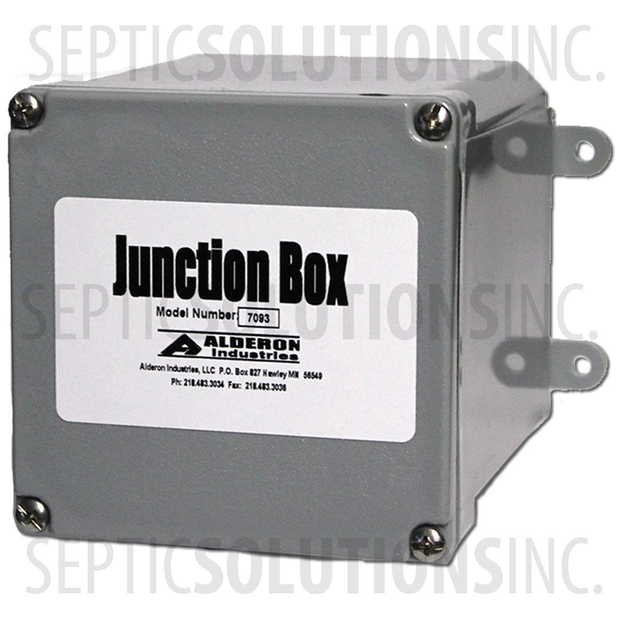 Alderon Small Junction Box 4 Quot X 4 Quot X 4 Quot 7093 Free