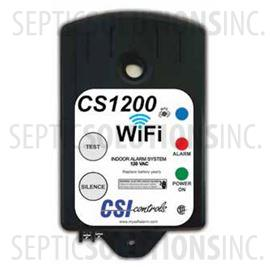 CS1200 Indoor WiFi Enabled High Water Alarm with 15' Mechanical Float Switch