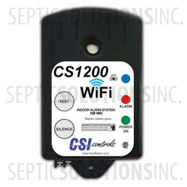 CS1200 Indoor WiFi Enabled High Water Alarm with 15' Mechanical Float Switch - Part Number 1047743