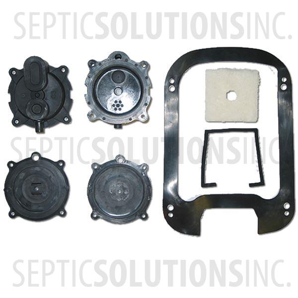 Secoh SLL-20, SLL-30, SLL-40, SLL-50 Diaphragm Replacement Kit - Part Number SLL2050Kit