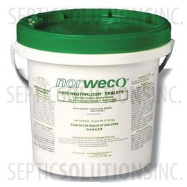 Bio-Neutralizer 25lb Pail of Septic Dechlorination Tablets