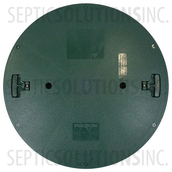"Polylok 24"" Septic Tank Riser Lid Model PL-24RC - Part Number 3008-RC"