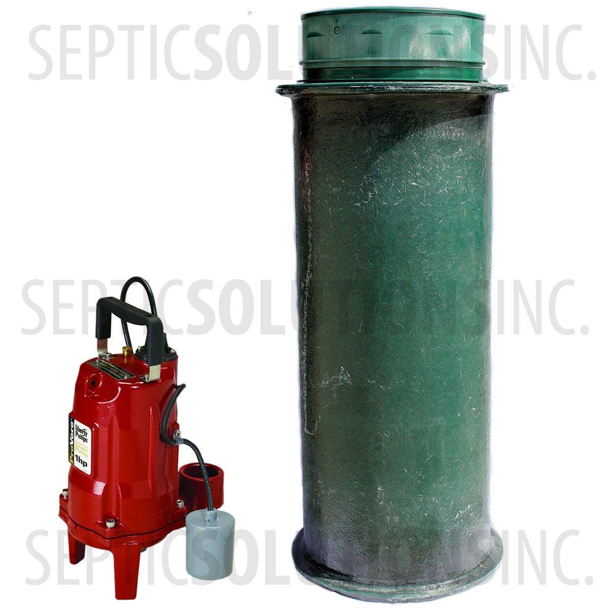 Sewage Pump Station 120 Gallon Sewage Lift Station With