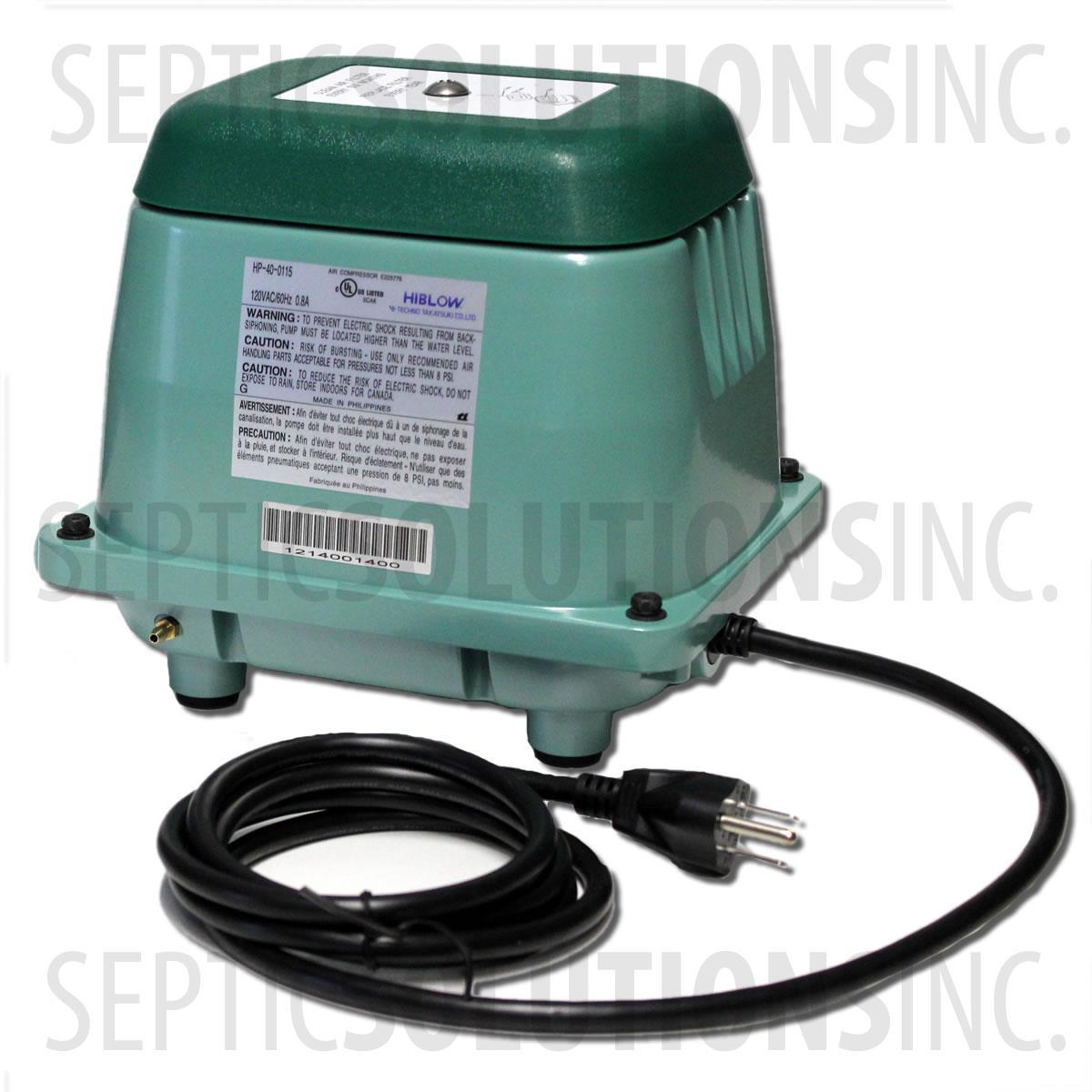 Hiblow Hp 40 Linear Septic Air Pump Fast Amp Free Shipping