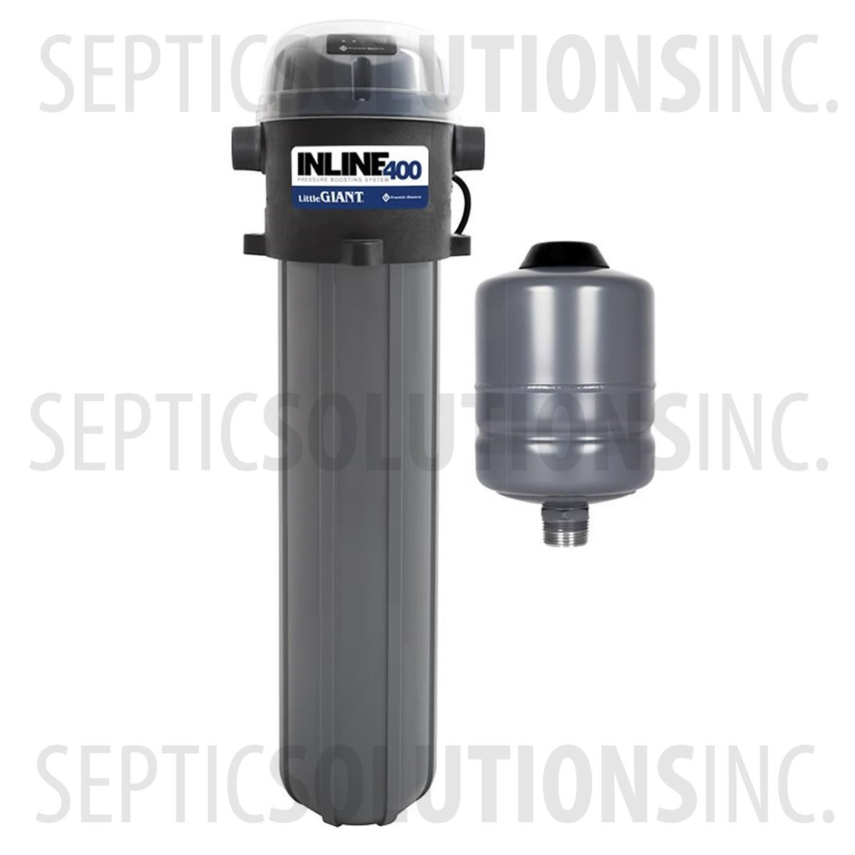 Pressure Booster Systems : Little giant inline pressure booster system free