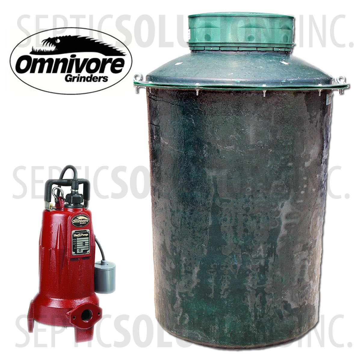 Sewage Pump Station 500 Gallon Sewage Lift Station With