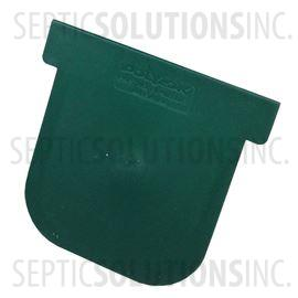 Polylok Heavy Duty Trench/Channel Drain Closed End Cap (Green)