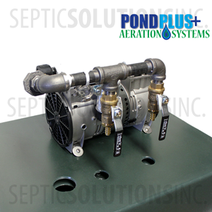 PondPlus+ P-O2 TP2 Aeration System for Medium / Deep Ponds