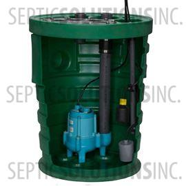"Little Giant PitPlus 20"" x 30"" Pre-Packaged Sewage Pump System with 1/2 HP Sewage Ejector Pump"