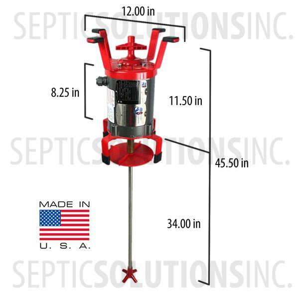 Jet aerator control pictures to pin on pinterest pinsdaddy for Septic tank aerator motor