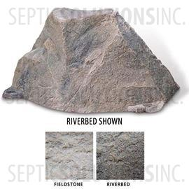 Riverbed Brown Replicated Rock Enclosure Model 105