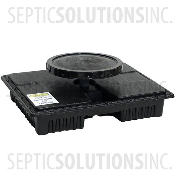 PondPlus+ Self-Weighted Single Membrane Diffuser Assembly for Pond Aerators - Part Number EPMD1