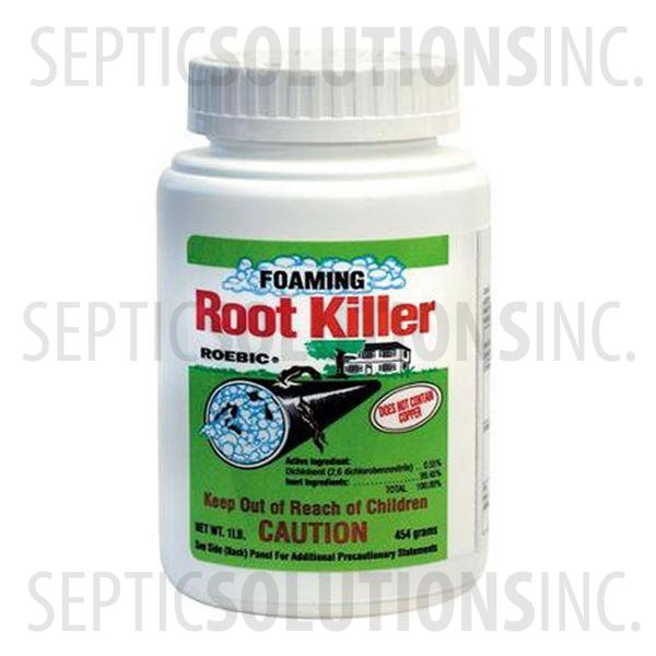Roebic Foaming Root Killer For Sewer and Septic (Case of Six) - Part Number FOAMRK-CASE