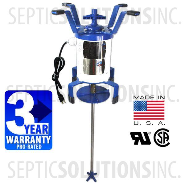 Ultra Air Model 735 Blue Flood Resistant Septic Aerator