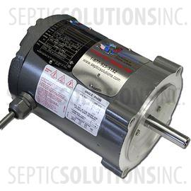 Replacement motor for ultra air model 535 and model 735 for Jet septic aerator motor
