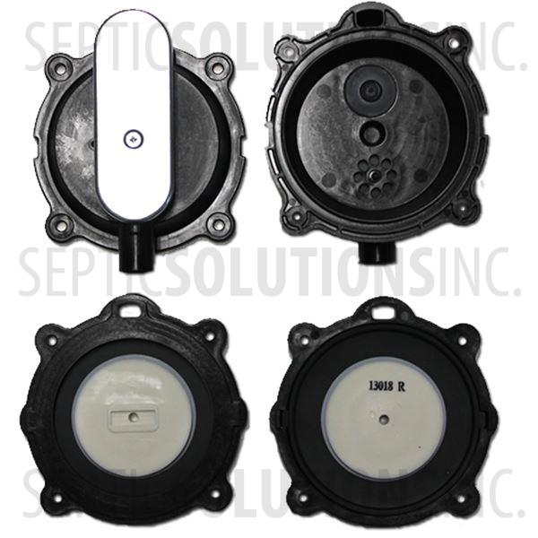 Gast DBMX-80 and DBMX-100 Diaphragm Replacement Kit - Part Number DBMXD80100