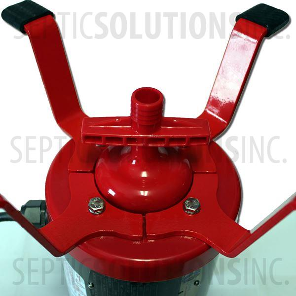 Ultra-Air Model 735 RED Flood Resistant Septic Aerator - Alternative Replacement For Jet Aerator - Part Number UA12R-FR