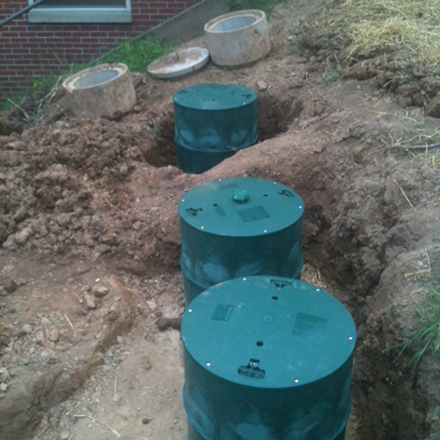 Septic Tanks Risers Bring Your Access To Ground Level