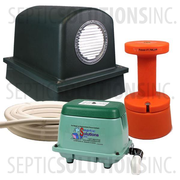 SepAerator Value Package Plus - Septic Tank Aerator - Part Number SepValuePkgPlus
