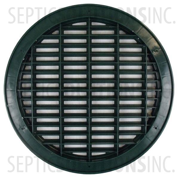 Polylok 18'' Heavy Duty Grate Cover for Corrugated Pipe - Part Number 3007-HDG