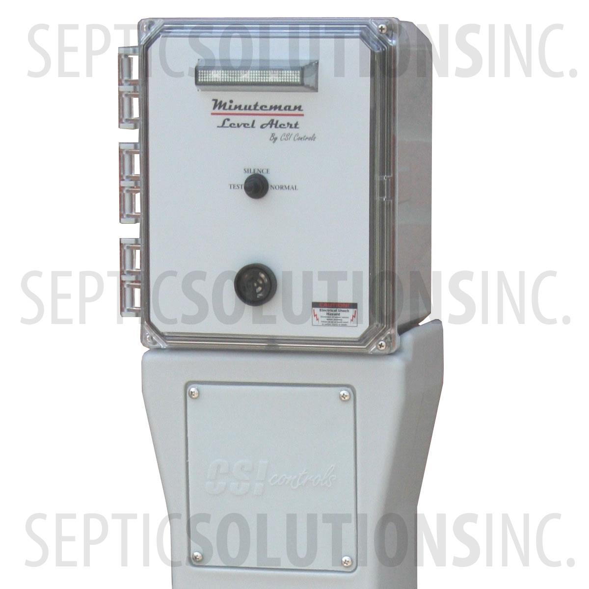 minuteman pedestal high water alarm - minuteman