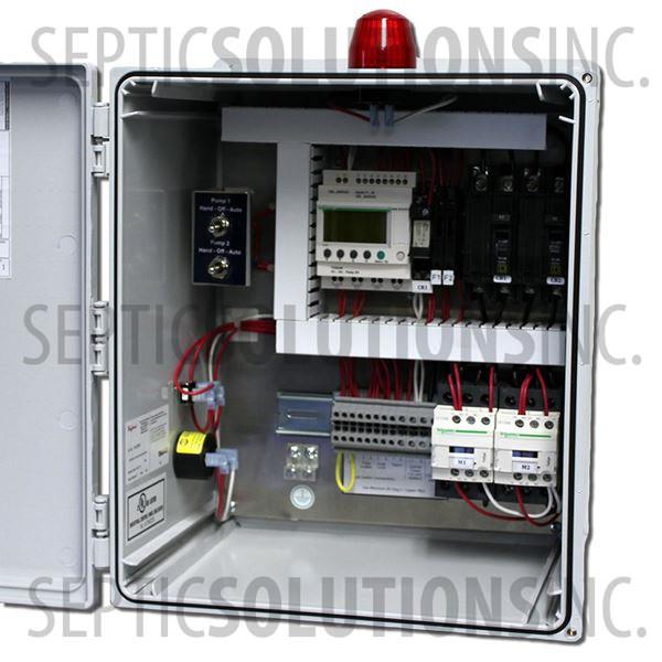 ALDERON SMART PANEL DUPLEX TIME DOSING CONTROL PANEL (120/230V, 0-20FLA) - Part Number 1316