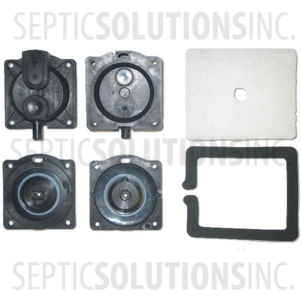 Alita AL-60 and AL-60P Diaphragm Replacement Kit - Part Number DRK60