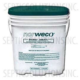 Bio-Max 48lb Pail of Septic Dechlorination Tablets